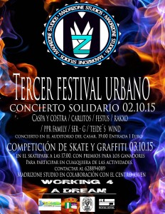 concierto solidario centro joven