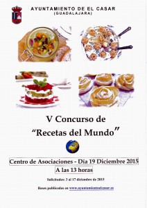 CARTEL CONCURSO RECETAS DEL MUNDO 2015 1
