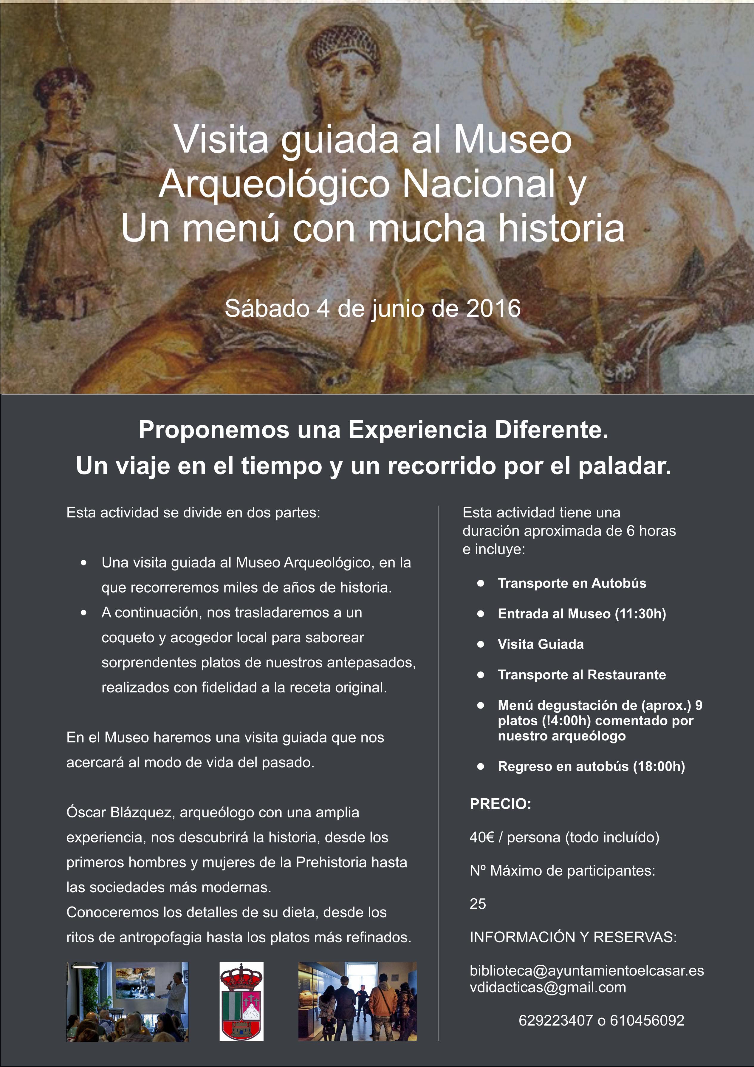 cartel museo arqueologico